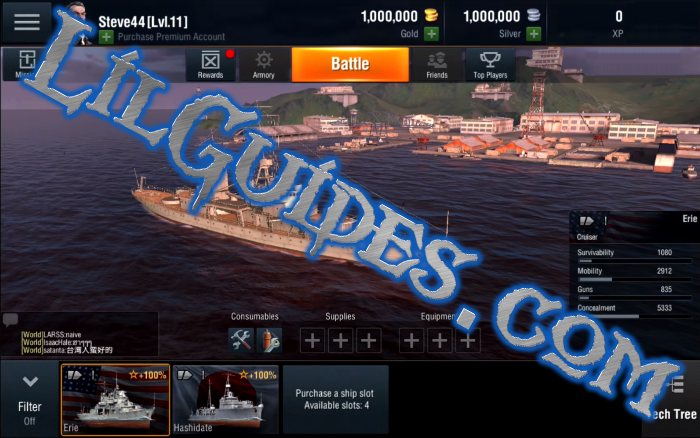 World of Warships Blitz Guide for Gold and Silver – Lil Guides