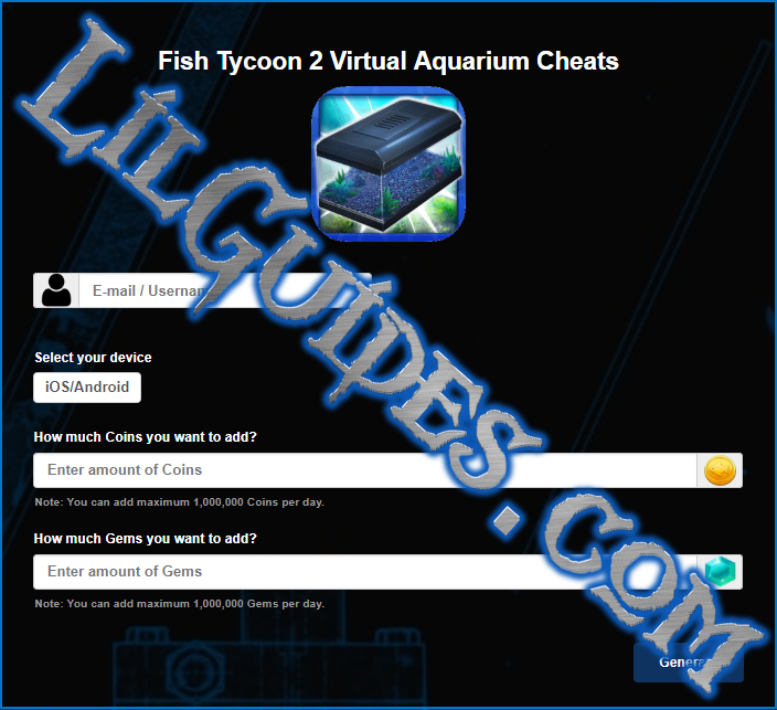 Fish tycoon 2 virtual aquarium cheats for coins and gems for Fish tycoon 2 guide