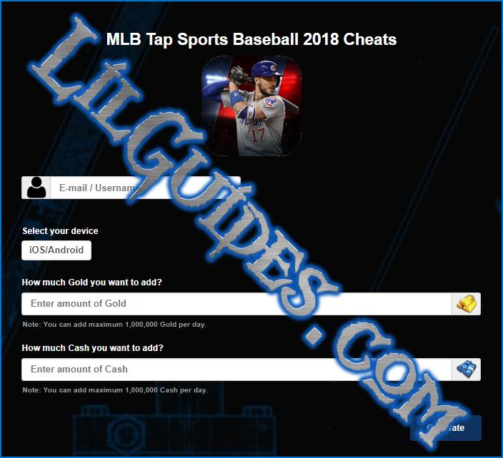 tap sports baseball 2018 iphone hack