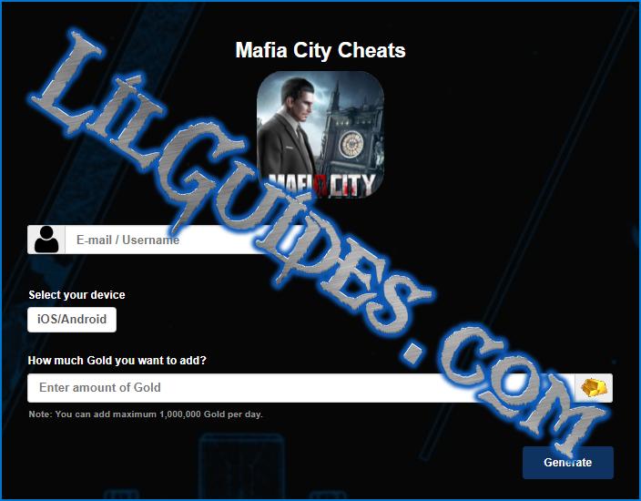 Mafia City Cheats for unlimited Gold – Lil Guides